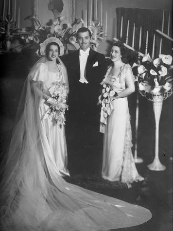 River Oaks book July 2013 GeorgeAnna Lucas, left, Clark Gable and Maria Lucas Langham