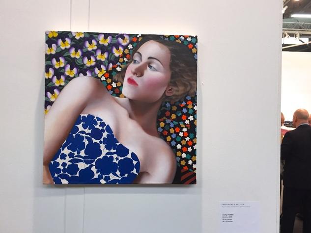 Lea Weingarten Armory Arts Week Fair Story March 2015 Image 12 Jocelyn Hobbie Fredericks & Freiser Gallery