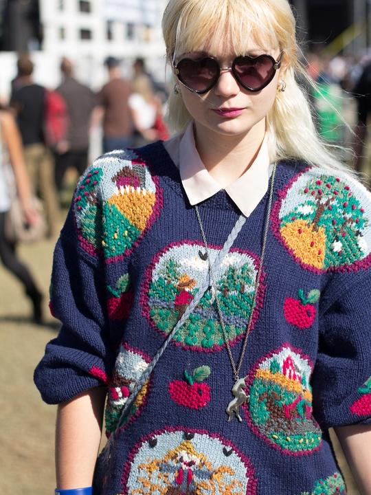 Fun Fun Fun Fest 2014 Fashion Style Cassidy Arnett
