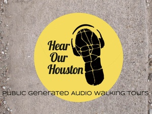 News_Hear Our Houston_audio tours_logo