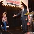 Wally Perez, left, and Dr. Osama Gaber at Nora's Home Gala May 2014