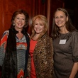 17 Judy Seligman, from left, Lisa Cline and Elaine Stotle at Be an Angel March 2014