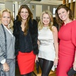 18 Jill Fuacetta, from left, Melissa Mithoff, Millette Sherman and Rosemarie Johnson at the Petra Nemcova luncheon December 2013