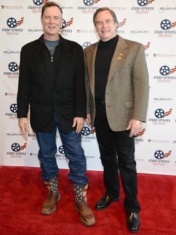 Barry Tubb, Steve Woods, Stars & Stripes Film Festival