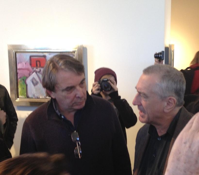 Mark Wawro and Robert De Niro at Sundance Film Festival