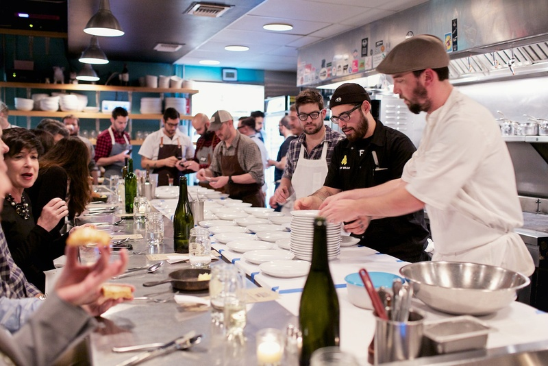 Ryan Lachaine at Indie Chefs Week Foreign and Domestic Austin