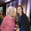 9399 Barbara Bush, left, and Lauren Bush Lauren at The Kinkaid School Alumni luncheon March 2015