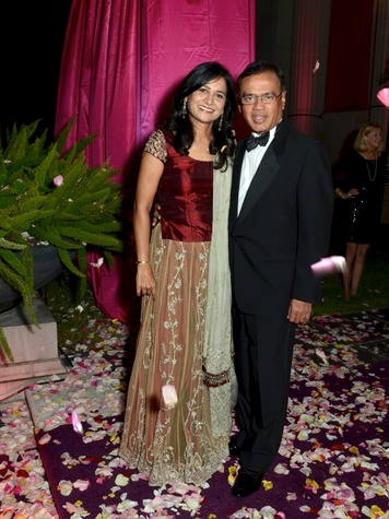 19 Ann and Dr. Nat Bala at the Museum of Fine Arts, Houston Ball October 2013