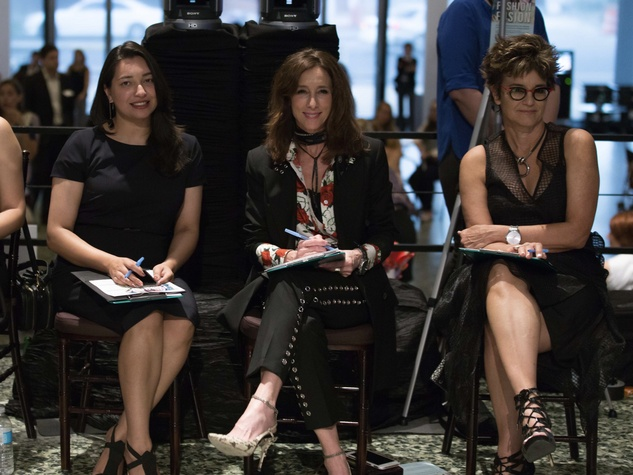 Houston, MFAH Fashion Fusion 2017, May 2017, Judges Sameera Faridi; Leah Little Hale; Mari Carmen Ramirez