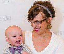Jennifer and Cohen Hughes, Baby bow tie event at Milk & Honey