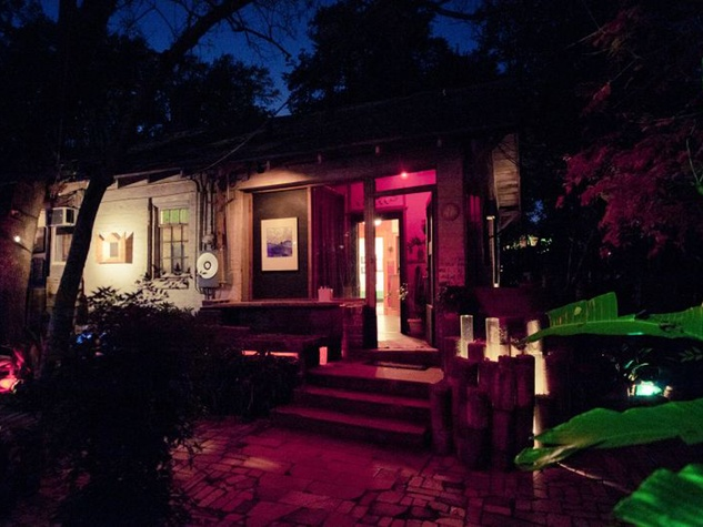 6 The Artery Media Project house at night