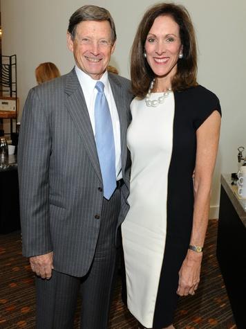 Forrest Hoglund, Karen Waller, national philanthropy day