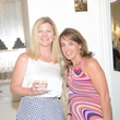 7 Lesley Krivan, left, and Meredith Cooley at the Brush & Blush Blow Dry Bar party June 2014