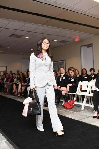 Success model Mengchuan at Dress for Success