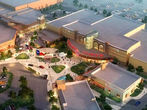West Oaks Mall, Edwards Theater, rendering