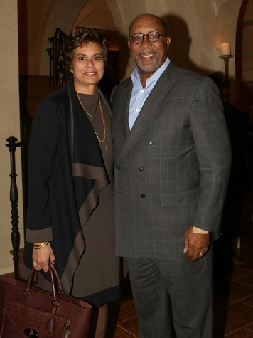 Matrice Ellis-Kirk and The Honorable Ron Kirk, ESCI kickoff party