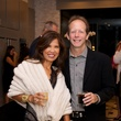 Dr. Bruce Lachterman and Soly Lachterman at Theresa Roemer first charity closet party November 2014