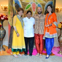 News, Shelby, Recipe for Success Indian dinner, May 2015, Bobbie Nau, Kiran Virma, Andy and Liz Stepanian