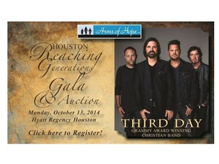 Houston Reaching Generations Gala and Silent Auction featuring Third Day