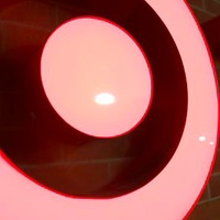 Target, neon sign