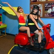 22 Crystal Phan, left, and Theresa Phan at the Children's Museum Freak Out Friday June 2014