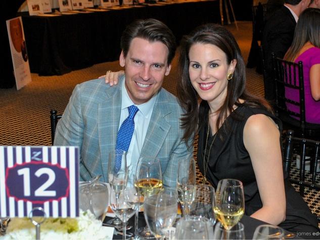 Chris Trowbridge, Rachel Trowbridge, Best Cellars Dinner