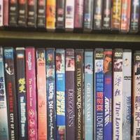 Vulcan Video DVD wall