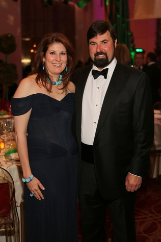 Christina Sacco and Brandon Myer at the Houston SPA Society for the Performing Arts Gala March 2015