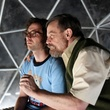 Kyle Mooney and Mark Hamill in Brigsby Bear