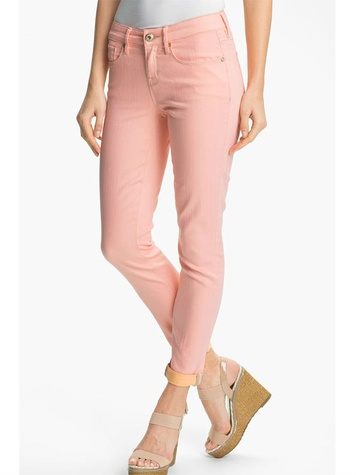 nordstrom Isaac Mizrahi Jeans Contrast Cuff Jeans