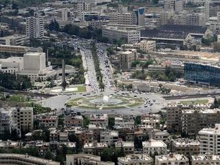 Umayyad Square, Damascus, Syria