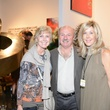 25 Viki and Gary Anderson, from left, with Laura Rathe at the HFAF 2014 Opening Night September 2014