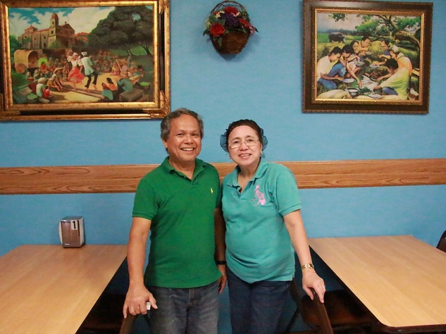 Candido and Corazón Raygon Mang Dedoy Restaurant Austin