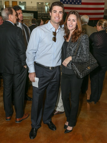 Hunter Hill, Katie Day, CPPC Luncheon