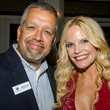 Michael Torres and Sabrina Barker-Truscott at Dancing With the Stars preview in Austin