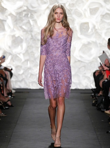 Fashion Week spring summer 2015 Naeem Khan October 2014 LOOK 11