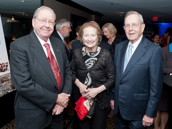 1, Houston Health Museum gala, September 2012, Dr. Richard E. Wainerdi, Barbara Winters, Dr. William L. Winters Jr.