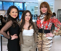 Houston, Latin Women's Initiative Fashion Show and Luncheon, feb 2017, Daisy Mendoza, Michele Leal, Karina Barbieri