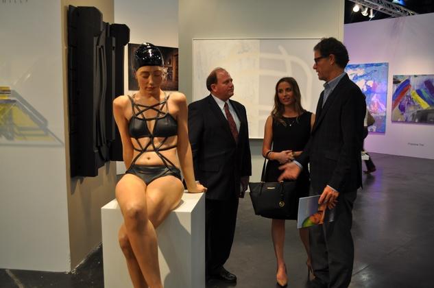 News, Shelby, Texas Contemporary opening, Sept. 2014, Mark Goldberg, Megan Lesser, Tim Yarger
