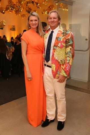 Blaffer Galleria Gala, April 2016, Gretchen McFarland, Andrew McFarland