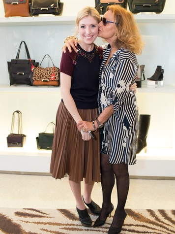 Megan Pruitt Winder and Diane von Furstenberg