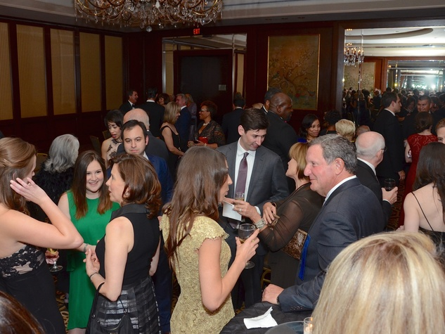 Planned Parenthood Gala crowd shot