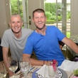 Nick Purday, left, and Bill Baldwin at the Heights Summer dinner July 2014