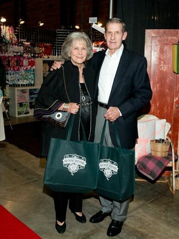Carol and Jeff Heller, chi o christmas market