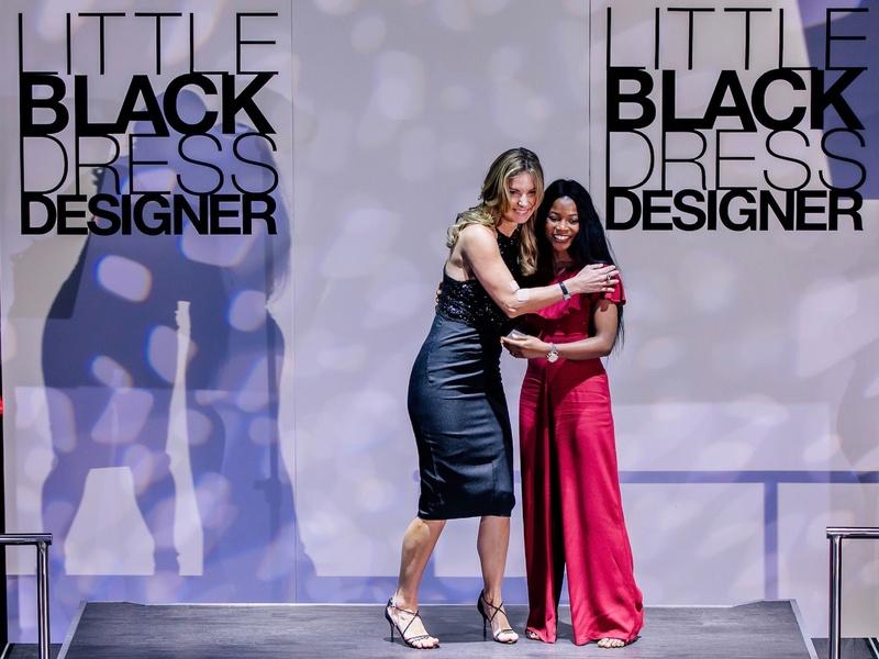 Romy Mitchell, Toyin Talabi at Little Black Dress Designer 2017
