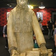 Alamo Drafthouse Lakeline lobby with Planet of the Apes Lawgiver statue