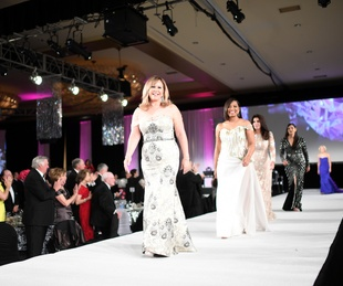 Houston, Women of Distinction Winter Ball, Feb 2017, WOD walk the runway
