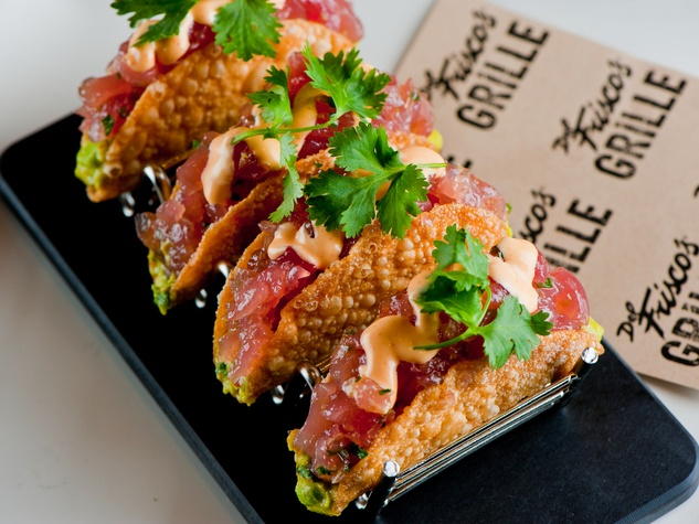 Del Frisco's Grille, March 2013, Ahi Tacos