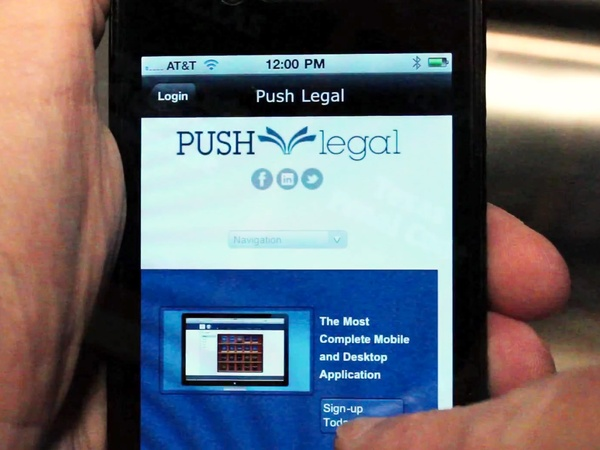push legal, cell phone