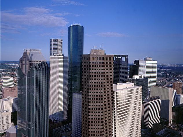 Houston, downtown, skyline, buildings